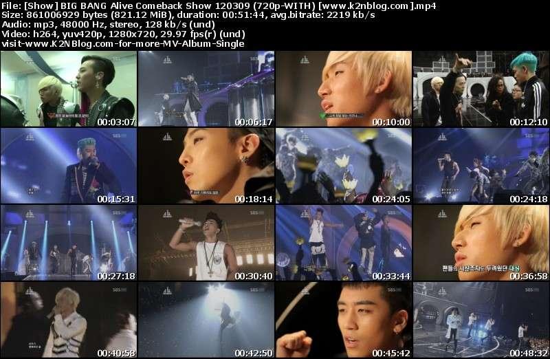 [Show] BIG BANG Alive Comeback Show 120309 [HD 720p]