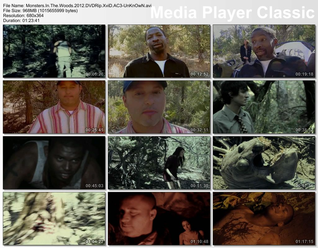 Monsters In The Woods   2012 DVDRip XviD AC3