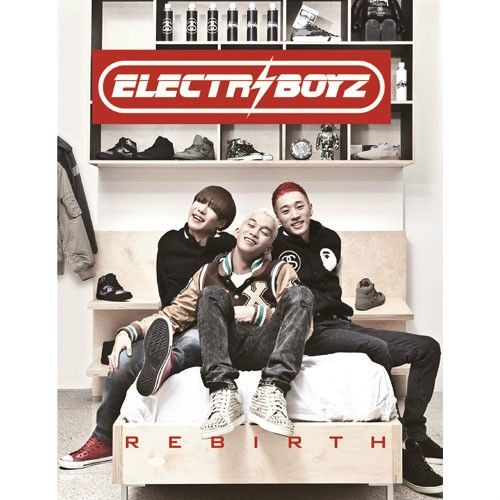 Electroboyz - Rebirth cover