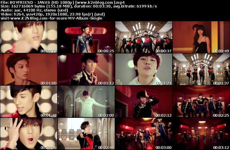 [MV] BOYFRIEND - JANUS (HD 1080p Youtube)