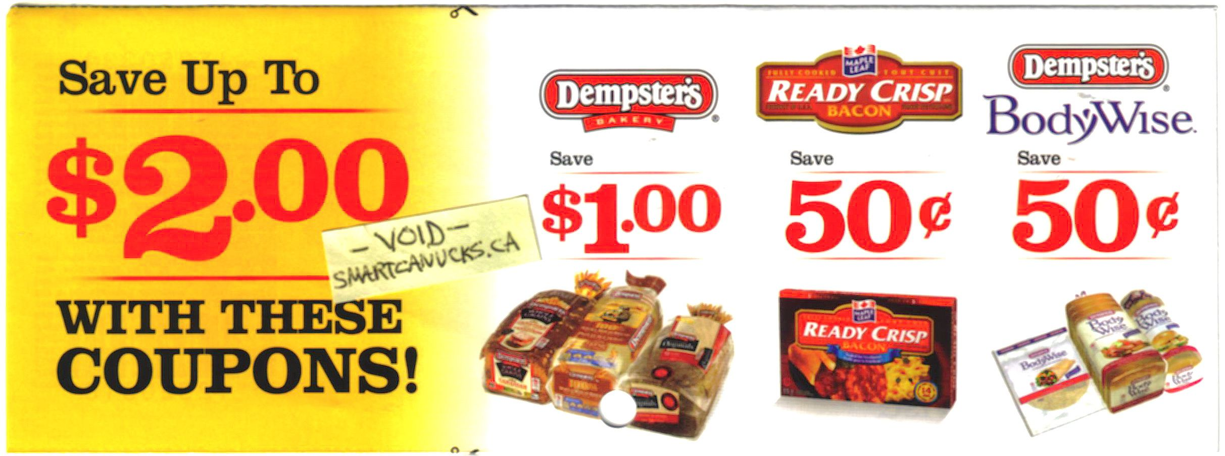 Coupons for maple leaf foods